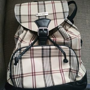 Authentic Burberry back pack